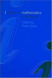 Cover of: Issues in Math Teaching (Issues in Subject Teaching)