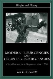 Cover of: Modern Insurgencies and Counter-Insurgencies