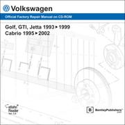 Cover of: Volkswagen Golf, Jetta, GTI