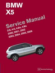 Cover of: BMW X5 (E53) Service Manual: 2000-2006