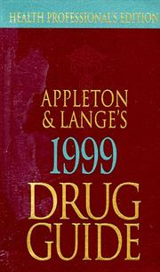 Cover of: Appleton & Lange