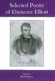 Cover of: Selected Poetry of Ebenezer Elliott