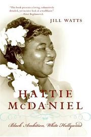 Cover of: Hattie McDaniel | Jill Watts