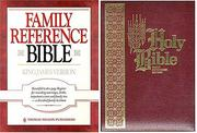 Cover of: Family Bible |