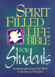 Cover of: Spirit Filled Life Bible: Learning and Living God's Word by the Power of His Spirit                  Is Spirit