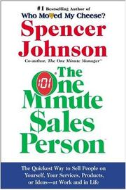 Cover of: One Minute Sales Person, The