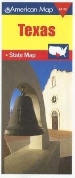 Cover of: American Map Texas State Map (American Map) |