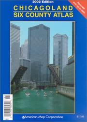 Cover of: Chicagoland Six County Atlas  | Creative Sales Corporation