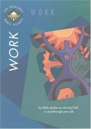 Cover of: Work (Life Application Bible Studies) | Tyndale House Publishers