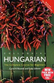 Cover of: Colloquial Hungarian Complete Pack