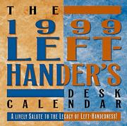 Cover of: Left-Hander's Desk Calendar 1999