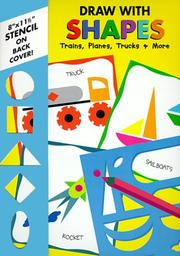 Cover of: Trains, planes, trucks & more (Draw With Shapes) | Price Stern Sloan Publishing