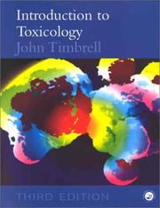 Cover of: Introduction to toxicology