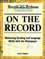 Cover of: On the Record