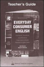 Cover of: Everyday Consumer English | Kleinmann