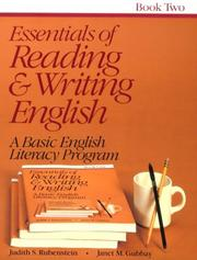 Cover of: Essentials of Reading and Writing English Book 2 |