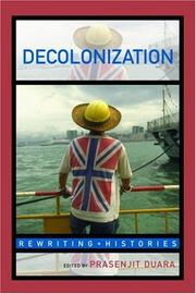 Cover of: Decolonization