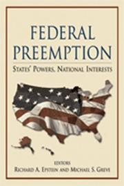 Cover of: Federal Preemption