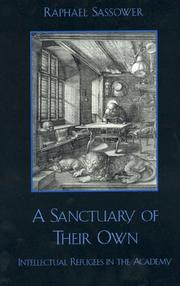 Cover of: A Sanctuary of Their Own