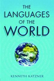 The languages of the world by Kenneth Katzner