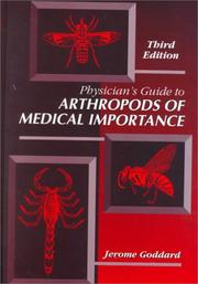 Cover of: Physician's Guide to Arthropods of Medical Importance