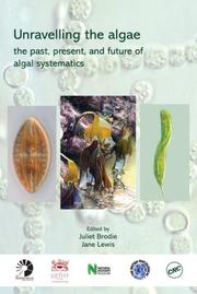 Cover of: Unravelling the algae |