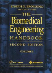 Cover of: The Biomedical Engineering Handbook, Second Edition, Two Volume Set | Joseph D. Bronzino