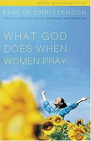 Cover of: What God Does When Women Pray