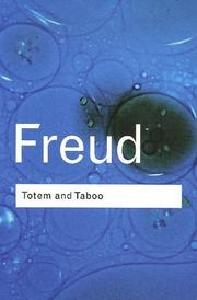 Cover of: Totem and Taboo (Routledge Classics) | Sigmund Freud