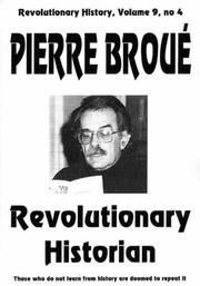 Cover of: Pierre Broue