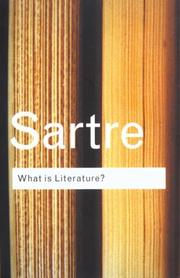 Cover of: What is Literature?