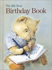 Cover of: The Idle Bear Birthday Book