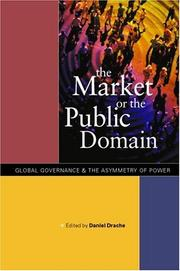 Cover of: The Market or the Public Domain