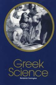 Cover of: Greek Science | Benjamin Farrington