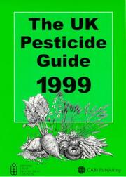 Cover of: Uk Pesticide Guide 1999 | R. Whitehead
