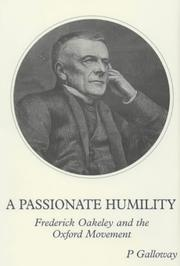 Cover of: A Passionate Humility