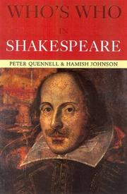 Cover of: Who's Who in Shakespeare (Who's Who)
