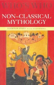 Cover of: Who's Who in Non-Classical Mythology (Who's Who)