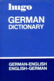 Cover of: Hugo's Pocket Dictionary-German