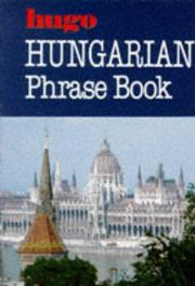 Cover of: Hungarian Phrase Book (Hugo Ser.)