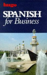 Cover of: Spanish for Business (Hugo)