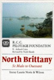 Cover of: North Brittany