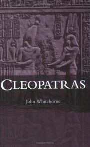 Cover of: Cleopatras