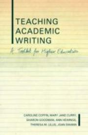 Cover of: Teaching Academic Writing
