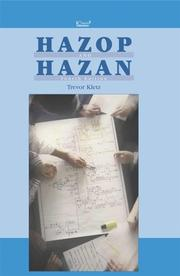 Cover of: Hazop and Hazan, Fourth Edition - IChemE