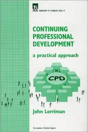 Cover of: Continuing Professional Development