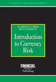 Cover of: Introduction to Currency Risk