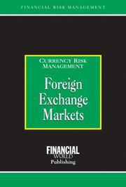 Cover of: Foreign Exchange Markets