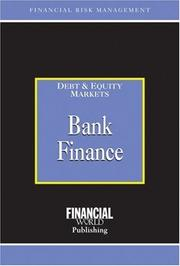 Cover of: Bank Finance