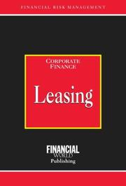 Cover of: Leasing (Risk Management Series: Corporate Finance)